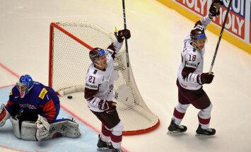 Дубль Букартса помог сборной Латвии одержать первую победу на ЧМ-2018 в основное время