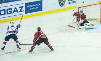 Rīgas 'Dinamo' bezspēcīgi pret zvaigžņoto SKA