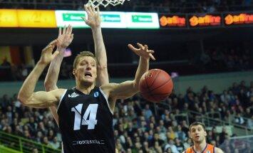 'VEF Rīga' basketbolisti 'Aldaris' LBL mačā pārliecinoši uzvar 'Turības' komandu