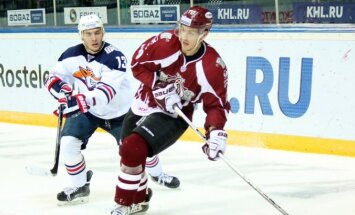 ВИДЕО: Рижские динамовцы обыграли в Таллине действующего чемпиона КХЛ