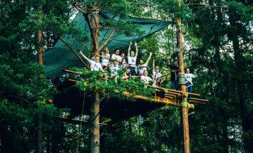 'Radām novadam': Mājas koku galotnēs un meža slidotava tūrisma veicināšanai novados