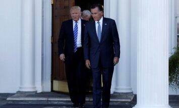 Mits Romnijs tiek apsvērts ASV valsts sekretāra amatam