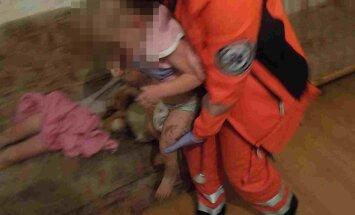 Зиепниеккалнс: полиция застала в квартире пьяную беременную мать с четырьмя детьми
