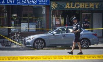 Apšaude Toronto: Šāvējs Grīktaunā nogalinājis sievieti un bērnu