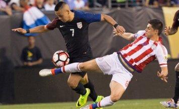 ASV futbola izlase iekļūst 'Copa America' ceturtdaļfinālā