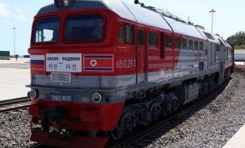 Krievijas un Ziemeļkorejas dzelzceļa līnija – Putina mēģinājums apiet Suecas kanālu