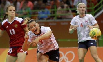 Riodežaneiro vasaras olimpisko spēļu sieviešu handbola turnīra pusfinālu rezultāti (18.08.2016)