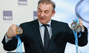 Krievijas hokeja federācijas prezidents nav satraukts par izlases neveiksmīgo pasaules čempionātu