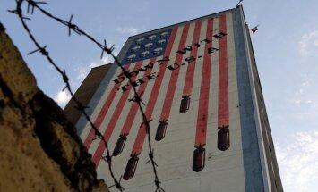 Irānas ajatolla Hameneji paziņo, ka valsts iestāšanās pret ASV politiku nemainīsies