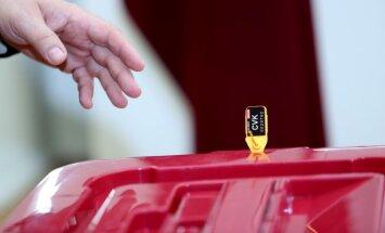 13. Saeimas vēlēšanas: iepriekš nobalsot varēs 37 pašvaldībās