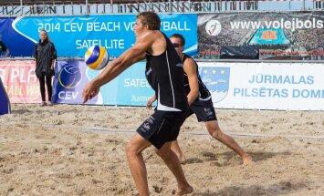 'Satellite' pludmales volejbola turnīrs Jūrmalā (teksta tiešraide)