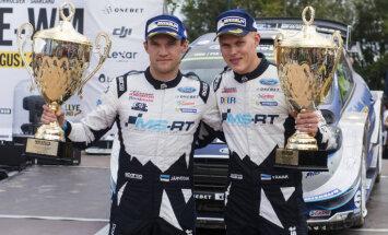 Igaunis Tanaks Vācijā izcīna savu otro WRC uzvaru