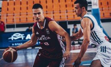Latvijas U-20 basketbolisti zaudē vietu Eiropas čempionāta augstākajā divīzijā