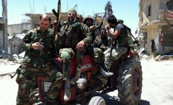ASV nosoda uzbrukumu Kusairai; pieprasa izvest 'Hezbollah' un Irānas kaujiniekus