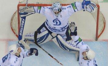 Maskavas 'Dinamo' nonāk uzvaras attālumā no Gagarina kausa iegūšanas