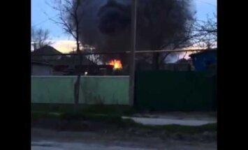 Gāzes uzpildes stacijas sprādzienā Krievijā 17 ievainotie
