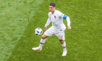 Ronaldu pēc neizteiksmīgā Portugāles snieguma: esmu ļoti apmierināts ar trim punktiem