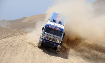 KAMAZ komandai nav līdzekļu dalībai nākamā gada Dakaras rallijā