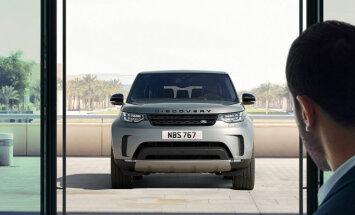 'Jaguar' un 'Land Rover' spēkrati īpašnieku atpazīs pēc sejas