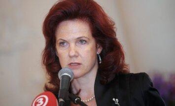 Pašlaik Latvijā nav vajadzības paaugstināt terorisma draudu līmeni, uzsver Āboltiņa