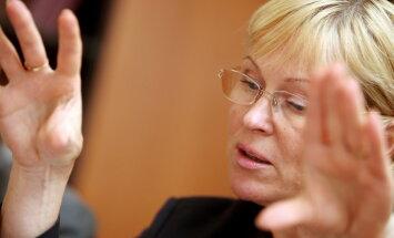 Kultūras ministre Žaneta Jaunzeme-Grende ir apslimusi