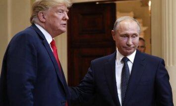Tramps un Putins samitu Helsinkos atzinuši par sekmīgu