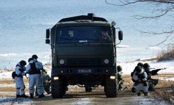 Krievija turpinās militāri iebiedēt Baltijas valstis, brīdina Igaunija