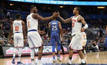 'Knicks' basketbolisti izcīna pirmo uzvaru kopš Porziņģa gūtās traumas