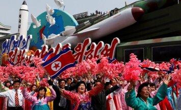 Ziemeļkorejai ir raķetēs uzstādāmas kodolgalviņas, secina ASV analītiķi