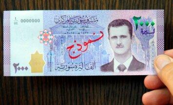 В Сирии выпущены банкноты с портретом Башара Асада