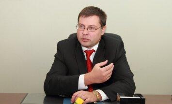 Dombrovskis: ministru lēmumi jāatstāj viņu kompetencē
