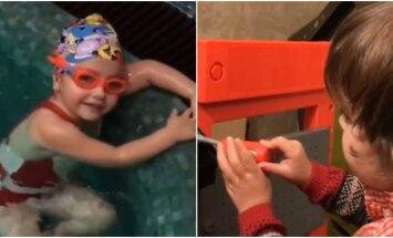 Privāti kadri: Galkina un Pugačovas bērniņi izrāda talantus