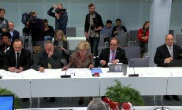 Randiņi 'Rīdzenē' un prezentācija – kā komisija iztaujāja Šķēli, Lembergu un Koziolu