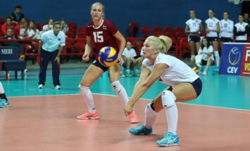 Latvijas sieviešu volejbola izlase noslēdz Eiropas čempionāta kvalifikācijas turnīru