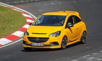 'Opel' uzsācis sportiskā hečbeka 'Corsa GSi' tirdzniecību