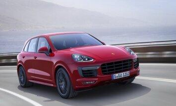 Vācija no Eiropas tirgus liek atsaukt 'Porsche Cayenne' automobiļus