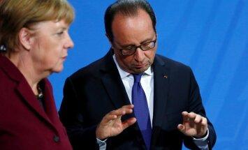 Olands un Merkele neizslēdz sankcijas pret Krieviju Sīrijas dēļ