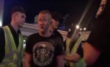 'Liverpool' fanus Kijevā 'laipni sagaidījuši' vietējie huligāni
