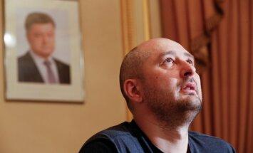 Babčenko ziņas par savu 'nāvi' skatījies morgā