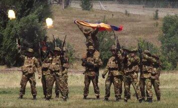 Ar Latvijas jauniešu piedalīšanos Armēnijā sākusies 'Sojuz 2015 – Nasledniki pobedi' militarizētā nometne