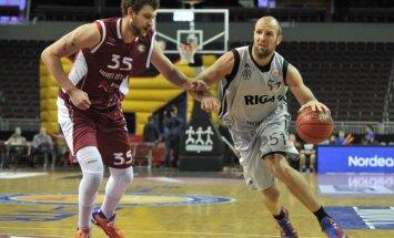 'VEF Rīga' basketbolisti pret 'Krasnije kriļja' pārtrauc piecu zaudējumu sēriju