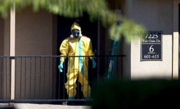 Teksasas slimnīcas mediķim konstatēta saslimšana ar Ebolas vīrusu