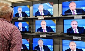 Эксперт: идея о запрете на российские каналы появилась в предвыборной атмосфере