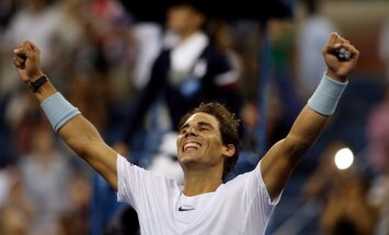 Nadals izcīna 200.uzvaru 'Grand Slam' turnīros