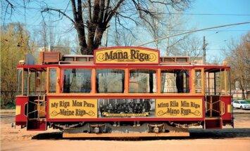 На рижские улицы возвращается ретро-трамвай