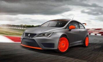 'SEAT' izgatavojis 'Ibiza' un 'Leon' sacīkšu prototipus