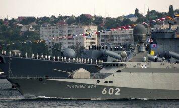 Krievija uz Baltijas jūru ved karakuģus ar kodolgalviņas nestspējīgām raķetēm, norāda eksperti