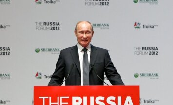 Laikraksts joko par Putina 'G1 samitu'
