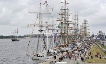 Regates 'Tall Ship Races' svarīgākos notikumus var vērot tiešraidē