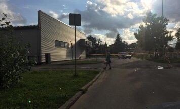 Тревога в Плявниеках: возле магазина Maxima найдены снаряды
